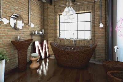 Дизайнерская сантехника для ванной комнаты