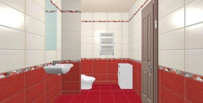 3D-визулизация ванной комнаты