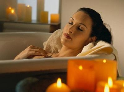 Релаксация в ванне с морской солью