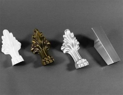 Варианты ножек для ванной