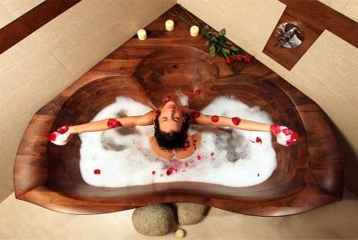 Оздоравливающий эффект ванны из дерева