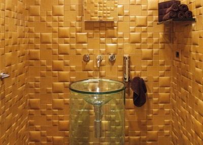 Декоративные стеновые панели для ванной комнаты