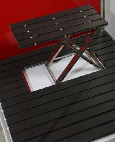 Удобный стульчик в душе