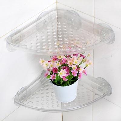 Пластиковые полки для ванной