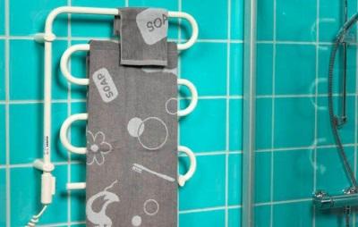 Электрополотенцесушитель в ванной комнате