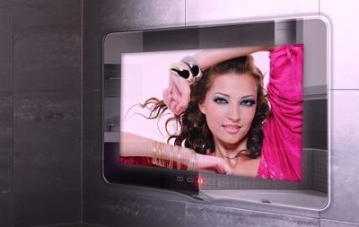 Вмонтированный телевизор