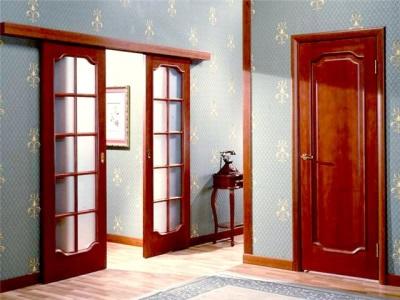 Сочетание дверей в общих помещениях