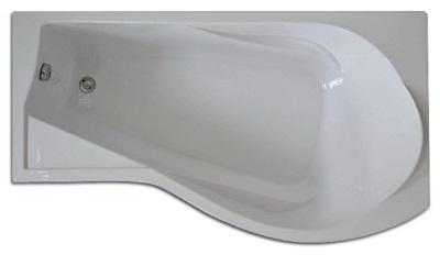 Ванна без гидромассажа угловая
