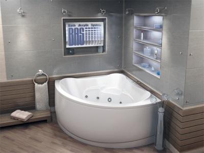 Угловая ванна Бас Модена