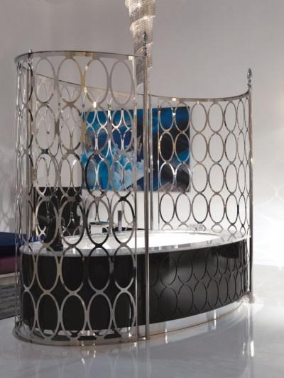 Дизайнерская металлическая ширма