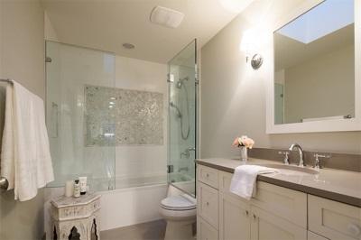 Шторки из стекла для ванны