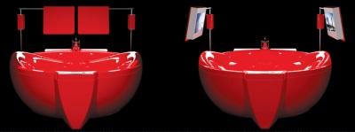 Ванна Красный Бриллиант