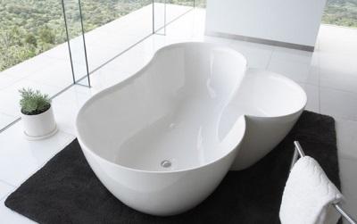 Ванна в форме цветка