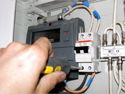 Подключение к электросети