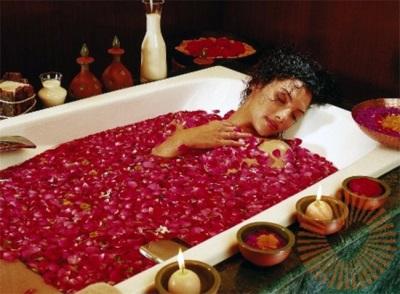 Релаксация в ванне
