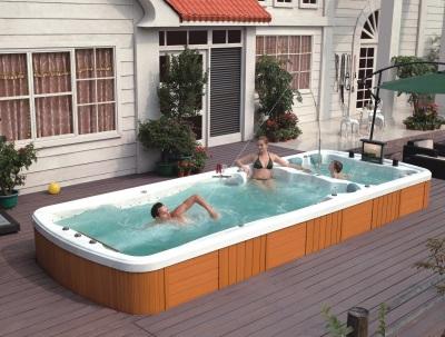 Гидромассажный бассейн для плавания