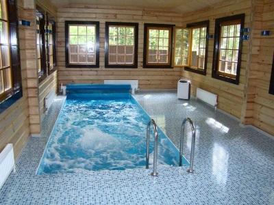 Гидромассажный бассейн дома