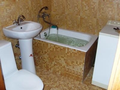 Маленькая ванна в хрущевке