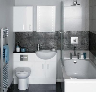 Мебель для очень маленькой ванной комнаты