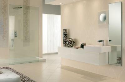 Подвешенная к стене мебель для ванной