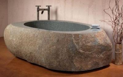 Ванна из камня