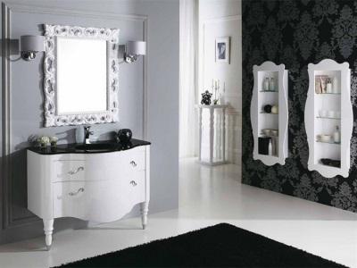 Вариант оклейки ванной комнаты обоями