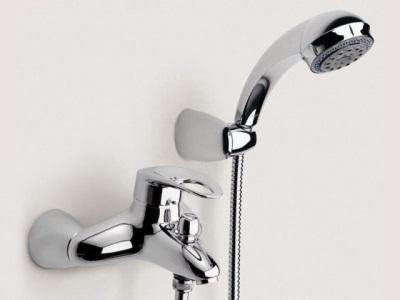 Кнопочный переключатель ванна-душ