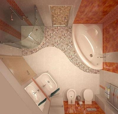 Перепланировка в ванной комнате