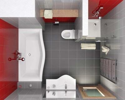 Правильная перепланировка ванной