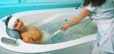Подводный массаж в ванне