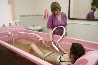 Подводный массаж при целлюлите
