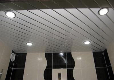 Глянцевые поверхности в ванной комнате