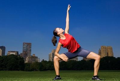 Физические упражнения на открытом воздухе