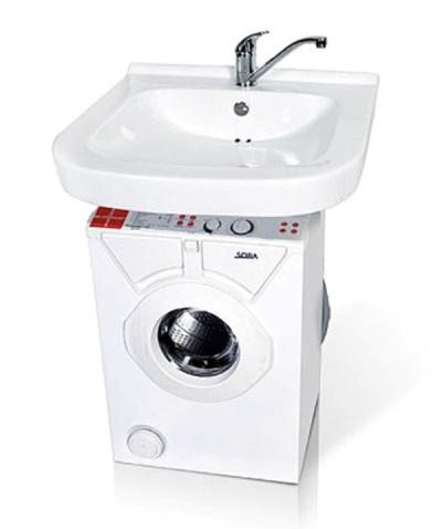 Комплект стиральной машины и раковины