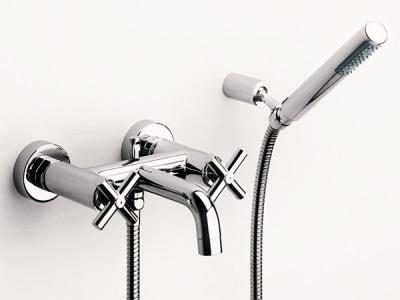 Двухвентельный смеситель для ванны и душа