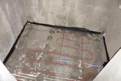 Гидро и тепло изоляция пола в ванной комнате