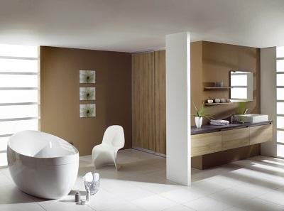 Перегородки - ванная в стиле модерн