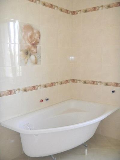Ванна, под которую будет делаться каркас из гипсокартона