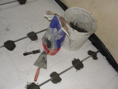 Изготовление смеси для стяжки
