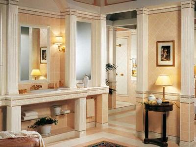 Ванная комната в класичесской архитектуре