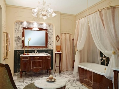 Классик в ванной комнате