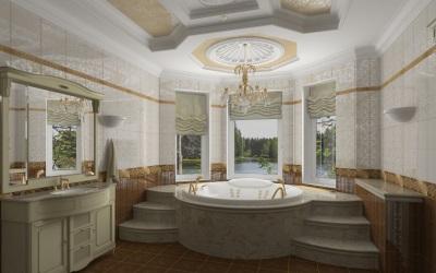 Пример классической ванной