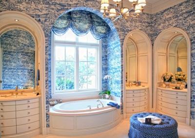 Красивая ванная в стиле прованс