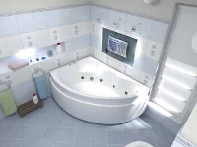 Гидромассажная ванна Bas лагуна