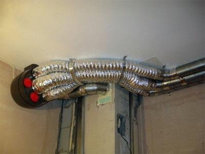 Система принудительной вентиляции в деревянном доме