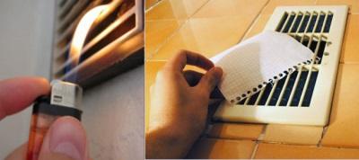 Проверка исправности системы вентиляции