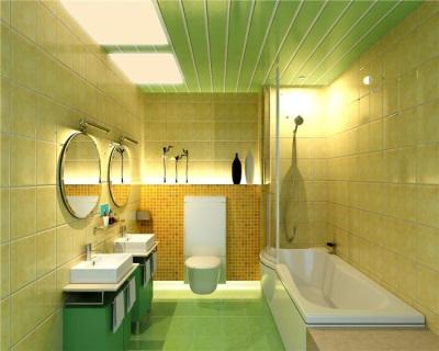Лайтбоксы в ванной комнате