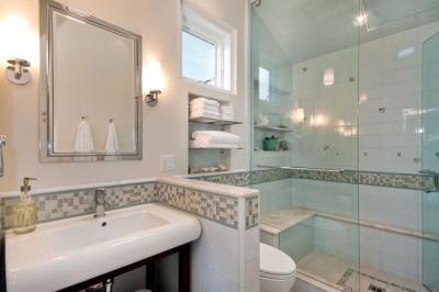 Гипсокартонная перегородка в ванной комнате