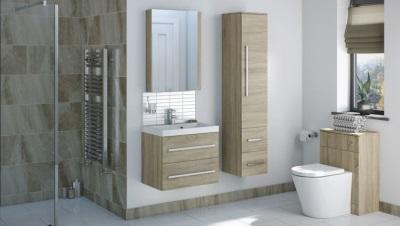 Шпонированный набор мебели для ванной комнаты