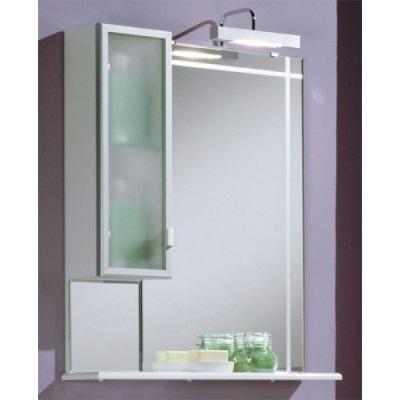 Зеркальный подвесной шкаф